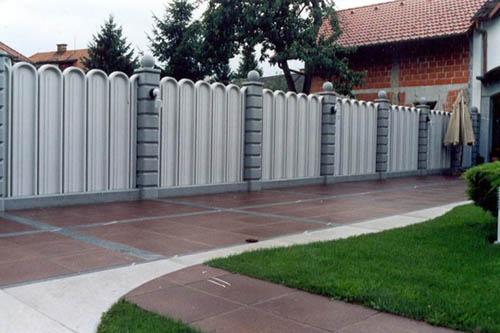 Lamelne zaščitne ograje